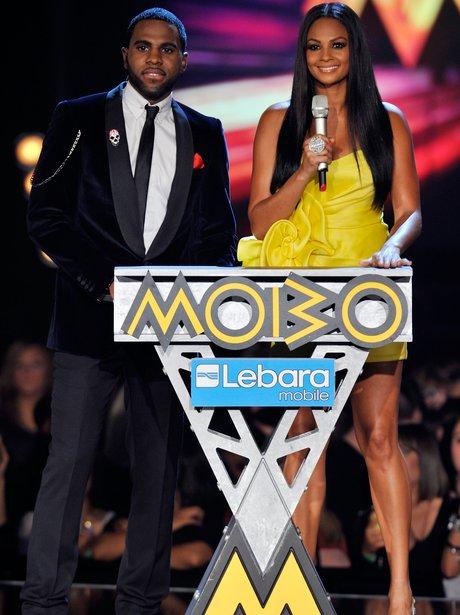 Jason Derulo and Alesha Dixon Mobo Awards 2011