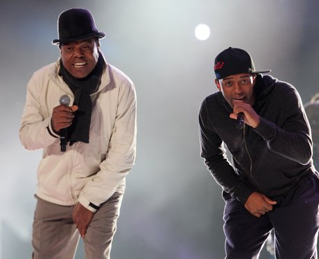 Oritsé Williams and Tito Jackson