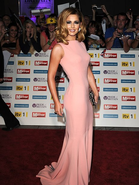 Cheryl Cole on the red carpet at the Pride Of Britain Awards
