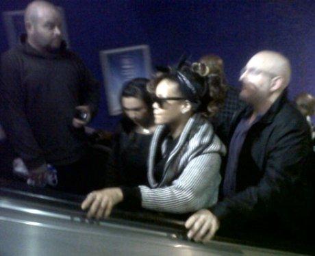 Rihanna Takes The Tube