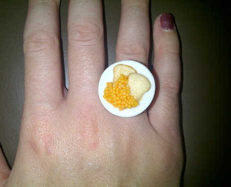 Katy Perry beans ring