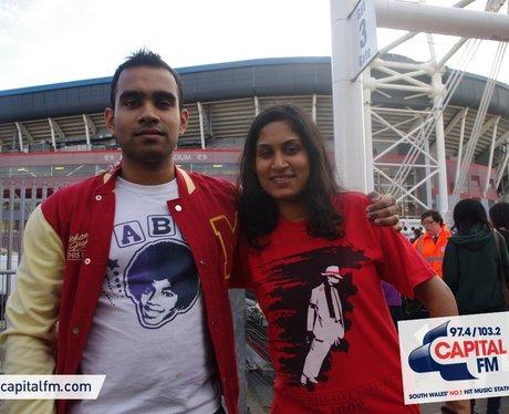 MJ fans