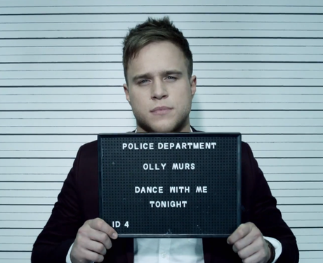 Olly Murs' 'Dance With Me Tonight' single artwork