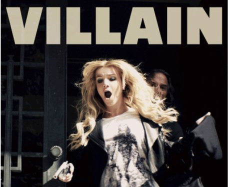 Britney Spears with a gun in 'Criminal' video