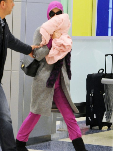 Katy Perry at JFK