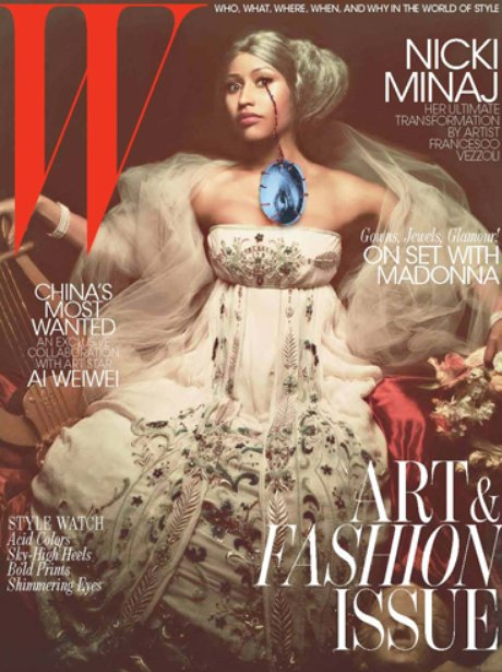 Nicki Minaj 'W Magazine'