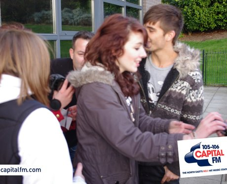 The Wanted visit Capital North East