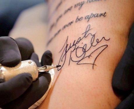 Justin Bieber Fans Tattoo