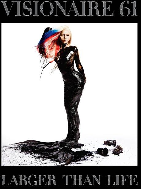 Lady Gaga Visionaire Magazine