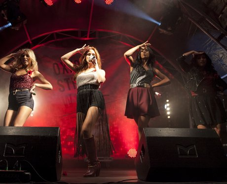 The Saturdays Christmas Lights