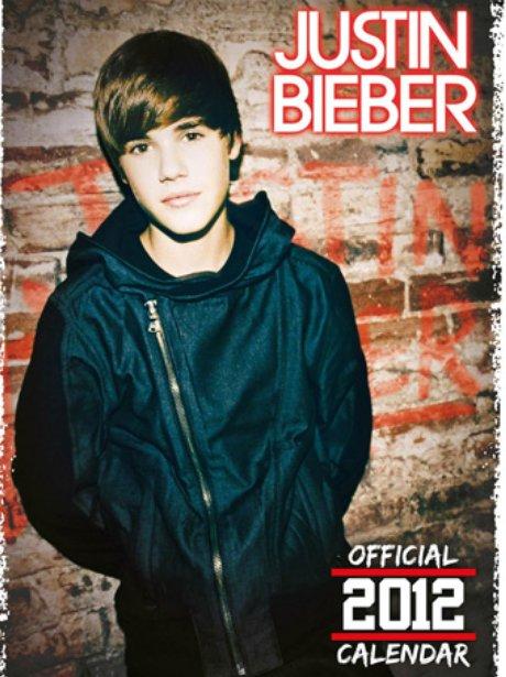 Justin Bieber '2012 Calendar'