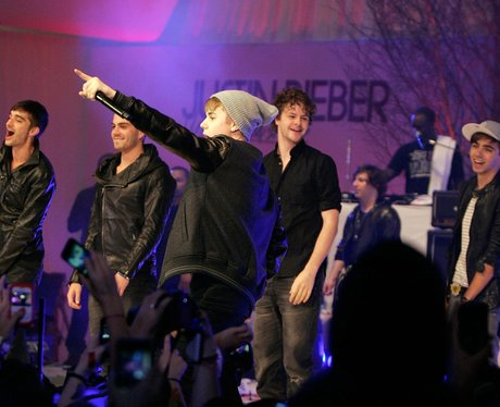 Justin Bieber and The Wanted