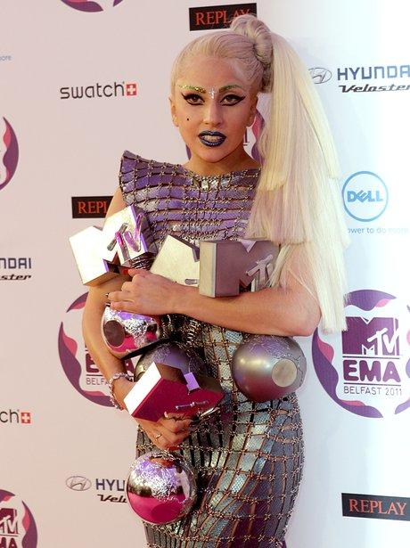 Lady Gaga MTV EMA