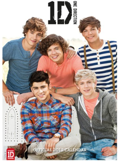 One Direction Calendars
