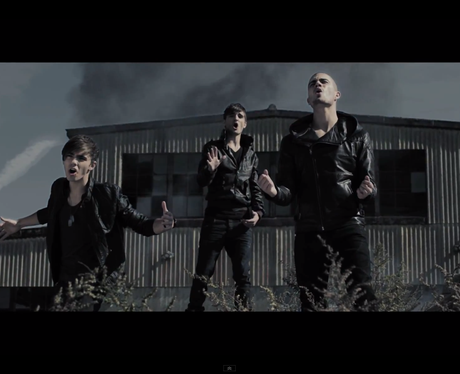 The Wanted in the video for 'Warzone'