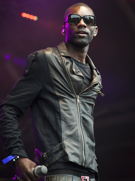 Wretch 32 performs at Camp Bestival
