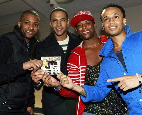 JLS HMV Album Signing in Manchester