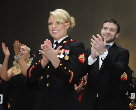 Justin Timberlake At Marine Ball