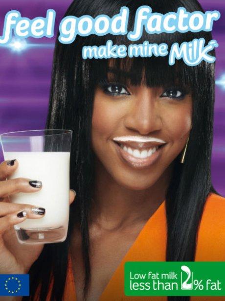 Kelly Rowland 'Make Mine Milk'