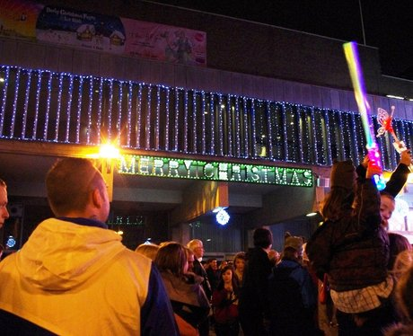 Derby Market Place Xmas Lights