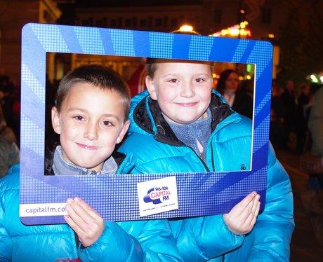 Derby Market Place Xmas Lights