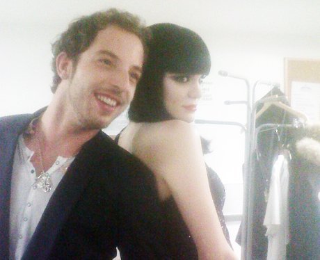 James Morrison and Jessie J back to back