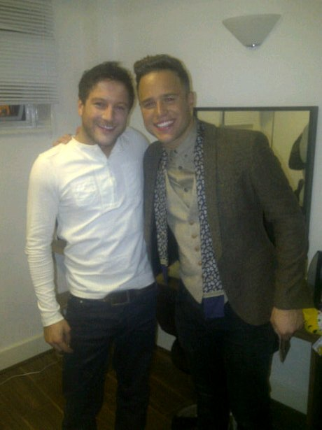 Matt Cardle and Olly Murs