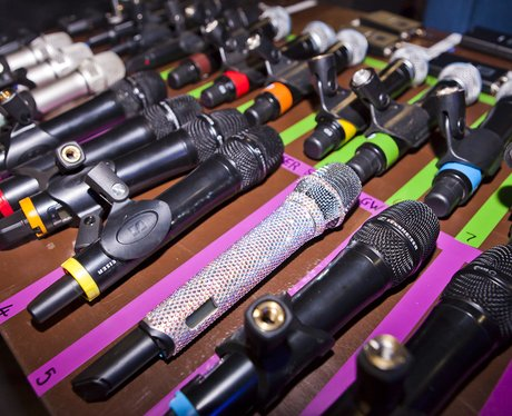 Microphones for Jingle Bell Ball artists