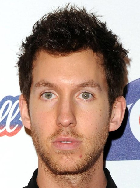 Calvin Harris arrives at the 2011 Jingle Bell Ball