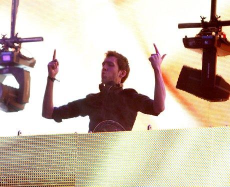 Calvin Harris live at the 2011 Jingle Bell bALL