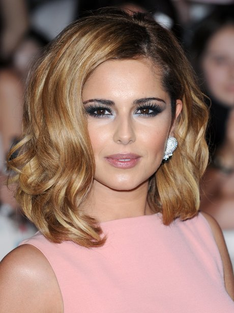 Cheryl Cole poses on the red carpet