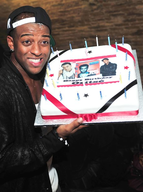 Oritse With Birthday Cake