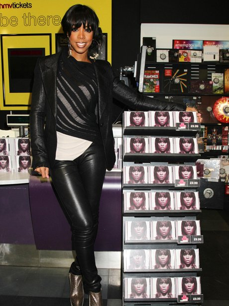 Kelly Rowland promoting album 'Here I Am'