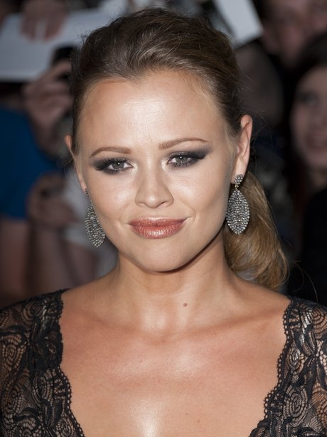 Kimberley Walsh at promo event with Girls Aloud