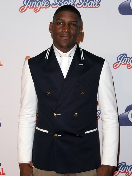 Labrith arrives at the 2011 Jingle Bell Ball