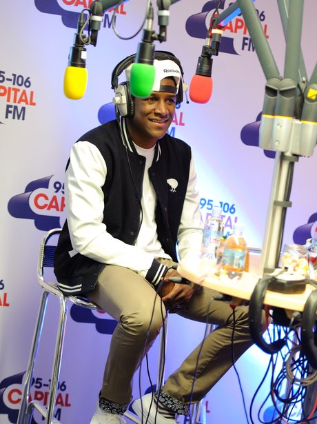Labrinth Backstage at the 2011 Jingle Bell Ball