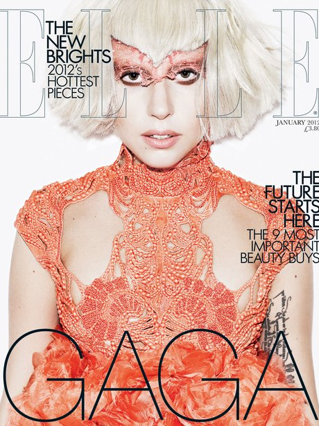Lady Gaga in Elle