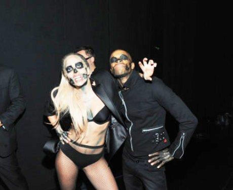 Lady Gaga at Grammys Nomination Concert