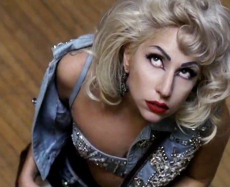 Lady Gaga in the 'Marry The Night' music video