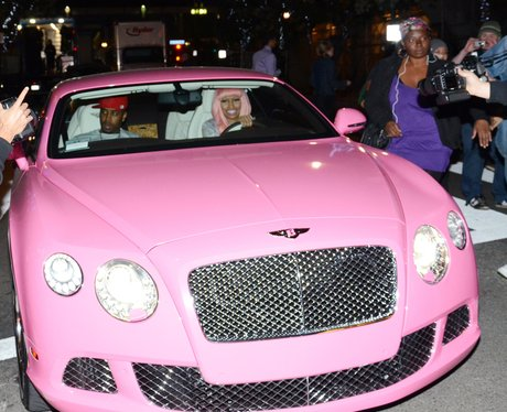Bentley Continental GT Pink Luxury Car Nicki Minaj