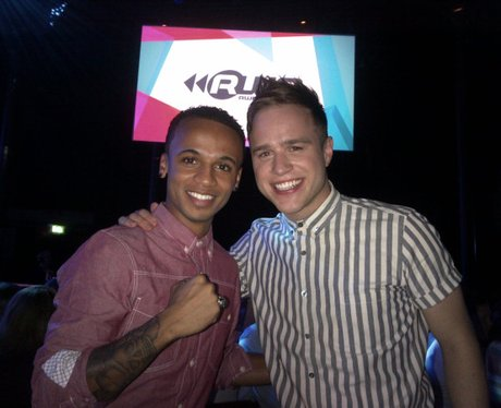 Aston Merrygold and Olly Murs