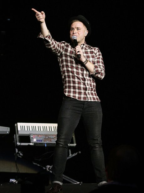 Olly Murs live at the 2011 Jingle Bell Ball