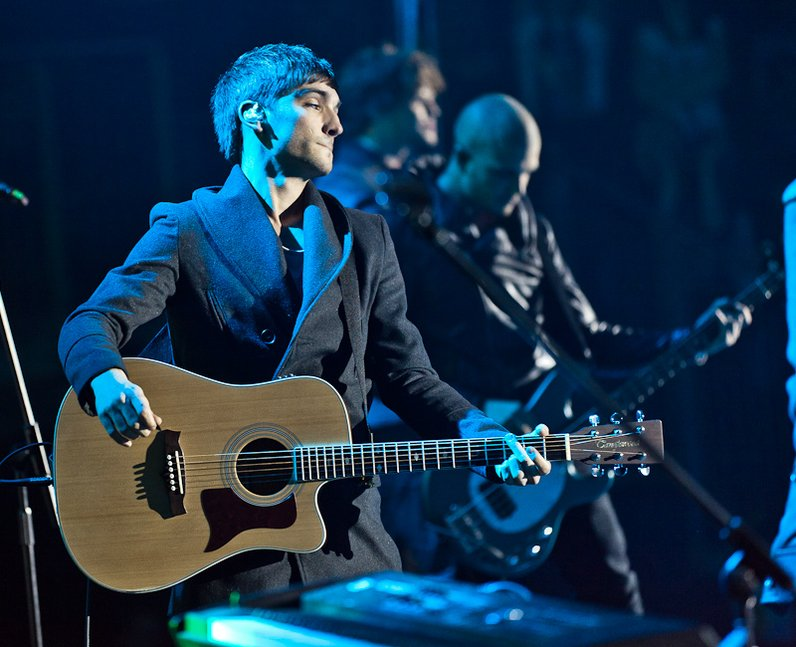 The Wanted live at the 2011 Jingle Bell Ball