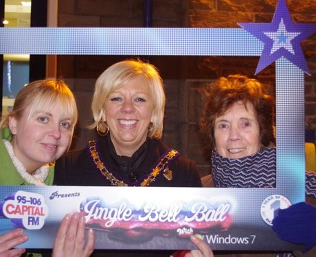 Bargoed Christmas lights
