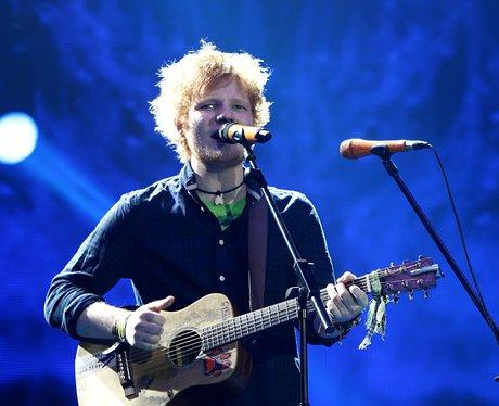 Ed Sheeran live at the 2011 Jingle Bell Ball