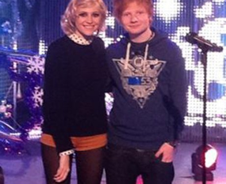 Ed Sheeran and Pixie Lott