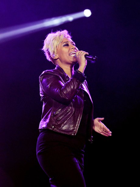 Emeli Sande live at the 2011 Jingle Bell Ball