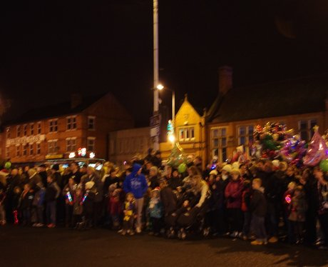 Hucknall Christmas Lights Switch On