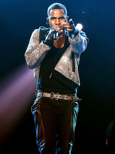 Jason Derulo performing live at the 2011 Jingle Bell Ball at the O2 Arena