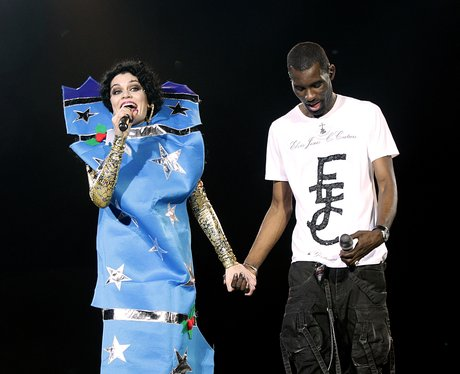 Jessie J with Wretch 32 live at the 2011 Jingle Bell Ball